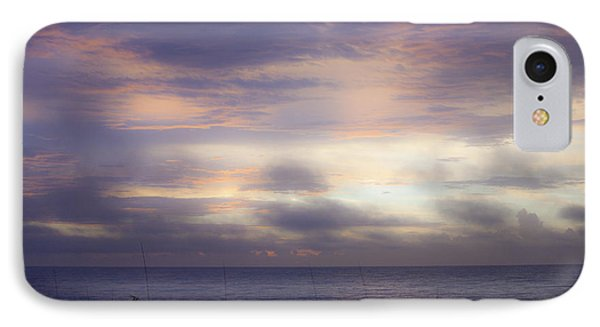 Dreamy Blue Atlantic Sunrise Phone Case by Teresa Mucha