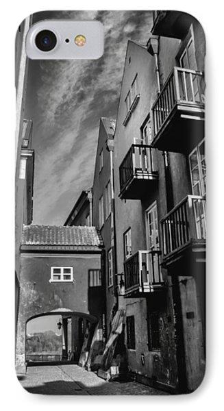 Dreamy Dawna Street Warsaw IPhone Case by Carol Japp