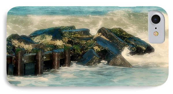 Dreamy Jetty - Jersey Shore IPhone Case by Angie Tirado