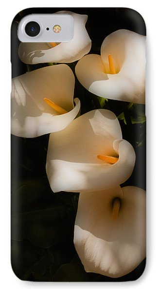 Dreamy Lilies IPhone Case by Mick Burkey