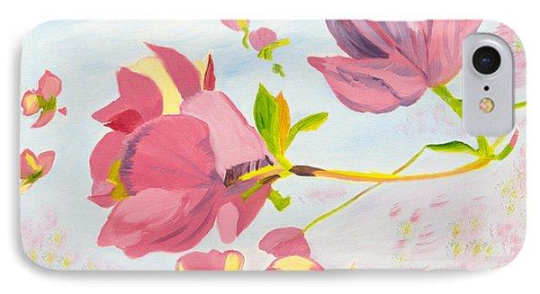 Dreamy Magnolias IPhone Case by Meryl Goudey