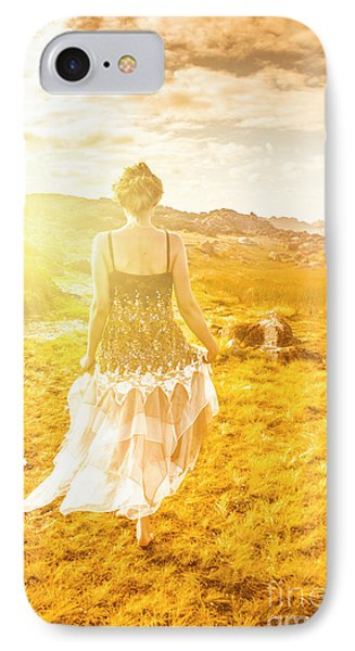 Dreamy Summer Fields IPhone Case by Jorgo Photography - Wall Art Gallery