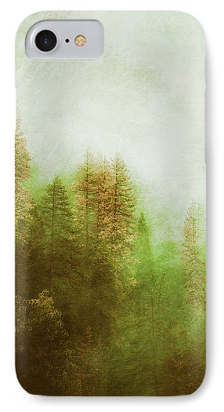 IPhone Case featuring the digital art Dreamy Summer Forest by Klara Acel