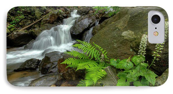 IPhone Case featuring the photograph Dreamy Waterfall Cascades by Debra and Dave Vanderlaan
