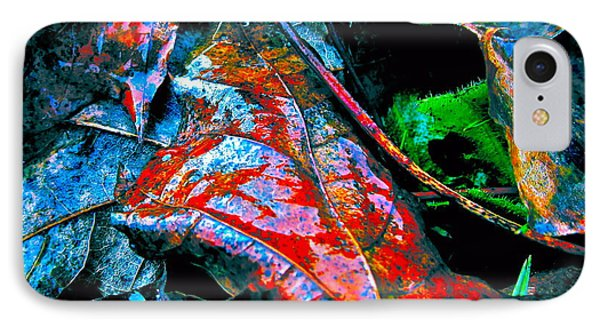 Drenched In Color Phone Case by Gwyn Newcombe