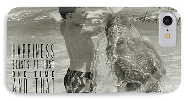 Drenched Quote Phone Case by JAMART Photography