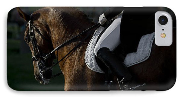 Dressage IPhone Case by Wes and Dotty Weber