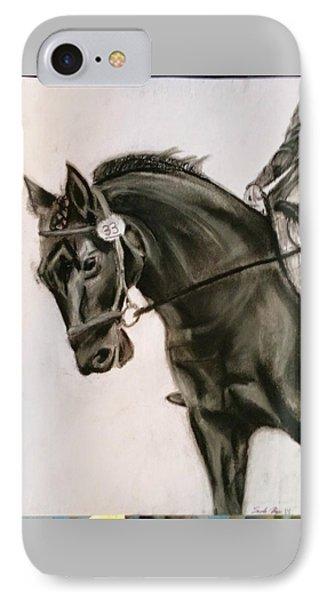 dressage Horse IPhone Case