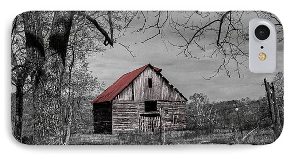 Dressed In Red Phone Case by Debra and Dave Vanderlaan