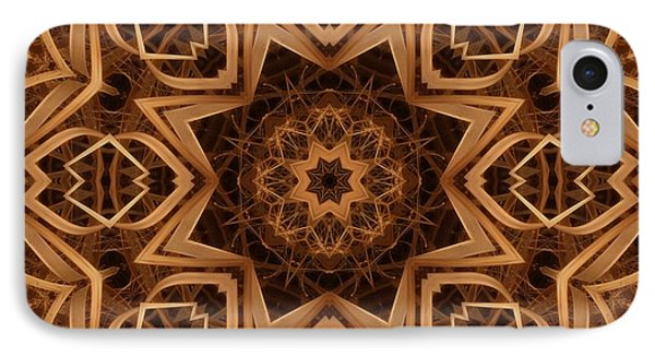 Dried Grass Mandala Phone Case by Lyle Hatch