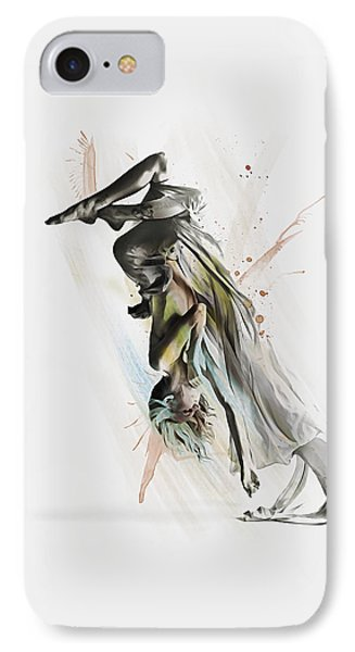 Drift Contemporary Dance Two IPhone Case by Galen Valle