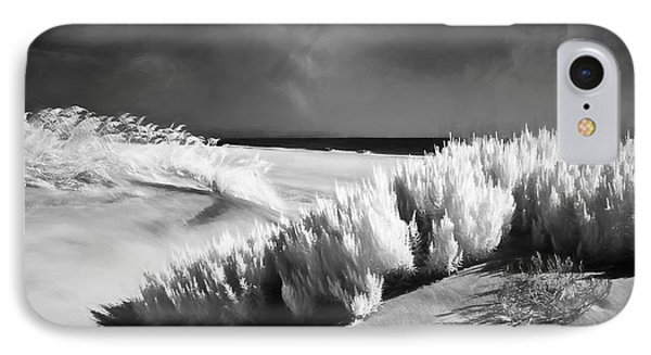 IPhone Case featuring the painting Drifting Sands II by Dan Carmichael