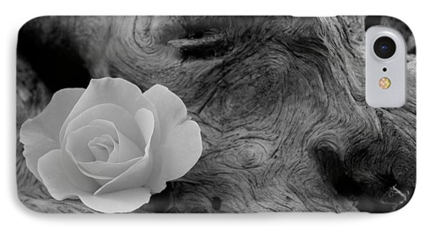 Driftwood And Roses IPhone Case