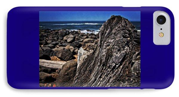 Driftwood Rocks Water IPhone Case by Thom Zehrfeld