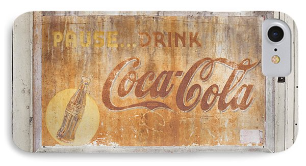 IPhone Case featuring the photograph Drink Coca Cola by Mark Greenberg