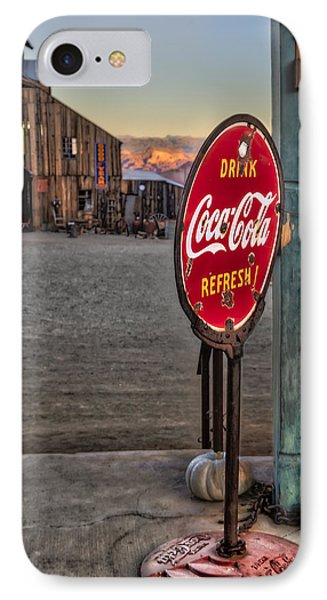 Drink Coca Cola Refresh IPhone Case by Susan Candelario
