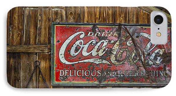 Drink Coca Cola Sign IPhone Case