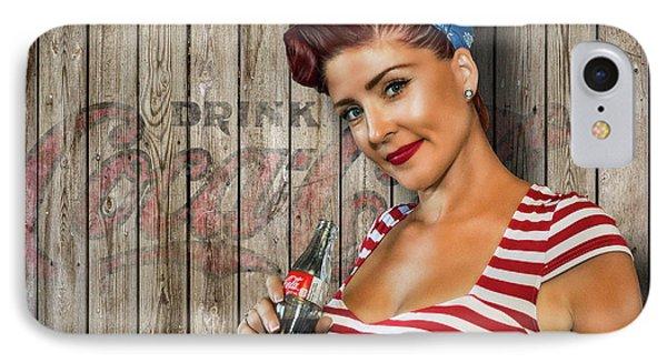 Drink Coca-cola IPhone Case by Brad Allen Fine Art