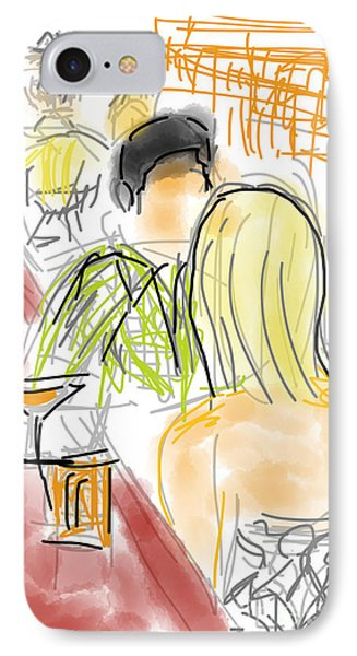 Drinks And A First Date IPhone Case
