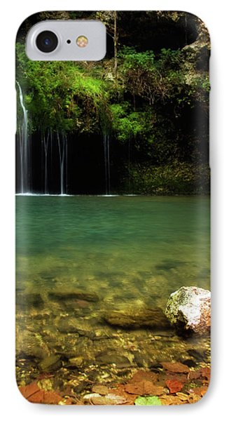 Dripping Springs IPhone Case by Lana Trussell