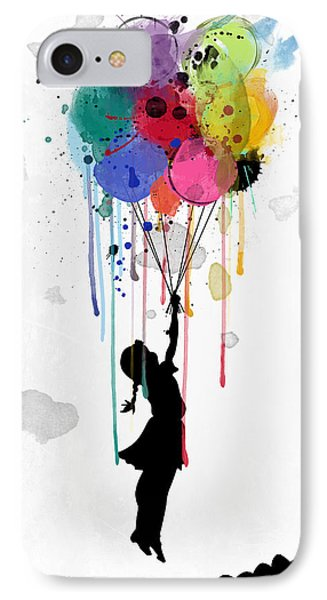 Drips IPhone Case by Mark Ashkenazi