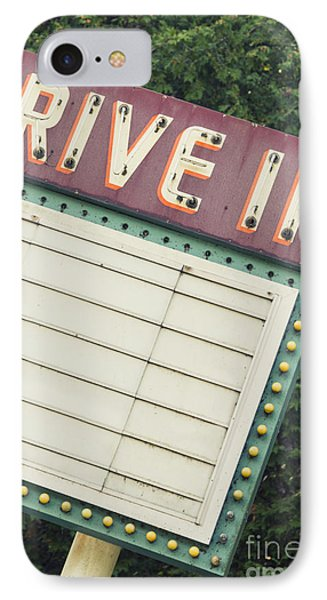 Drive In I IPhone Case by Margie Hurwich