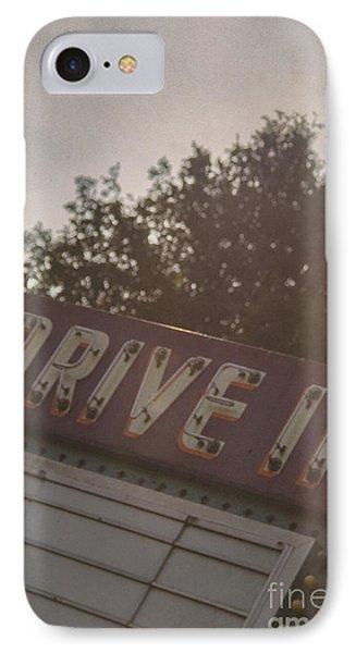 Drive In II IPhone Case by Margie Hurwich