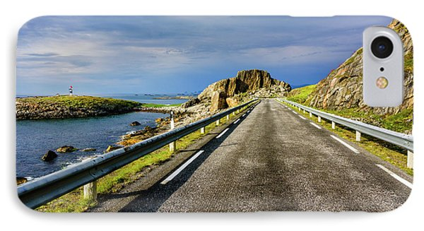 IPhone Case featuring the photograph Driving Along The Norwegian Sea by Dmytro Korol