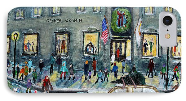 Driving By Cronins, After Getting The Tree IPhone Case by Rita Brown