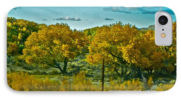Driving Foliage Phone Case by Gwyn Newcombe
