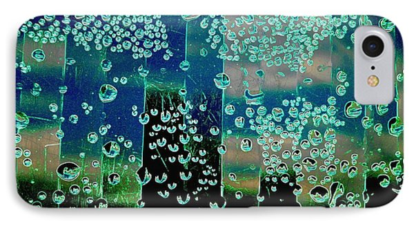 Drops Of Rain Phone Case by Shirley Sirois