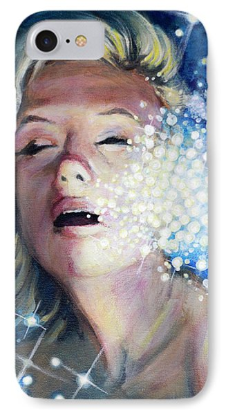 Drowning In A Sea Of Stars IPhone Case by Simon Kregar