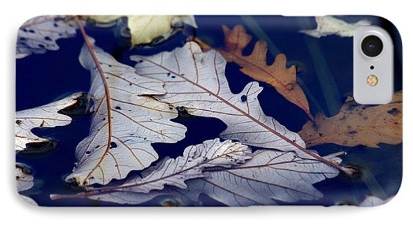 IPhone Case featuring the photograph Drowning In Indigo by Doris Potter
