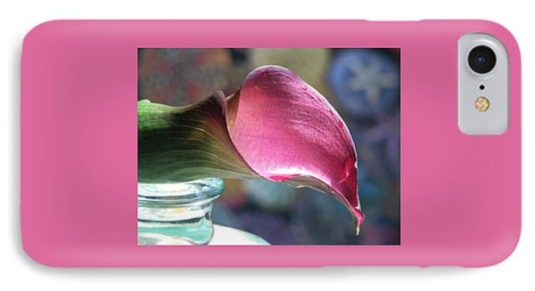 Drowsy Calla Lily Phone Case by Angela Davies