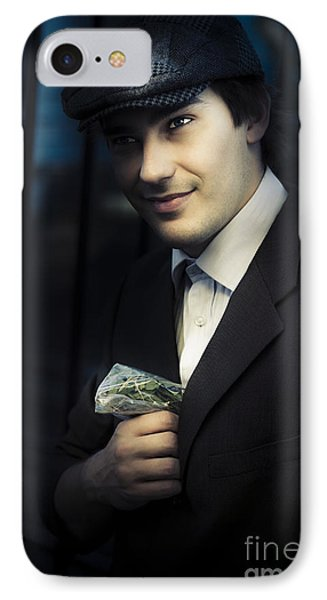 Drug Dealer With Marijuana IPhone Case by Jorgo Photography - Wall Art Gallery