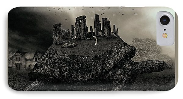 Druid Golf Black And White IPhone Case