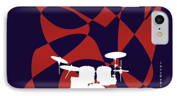 Drums In Purple Strife IPhone Case