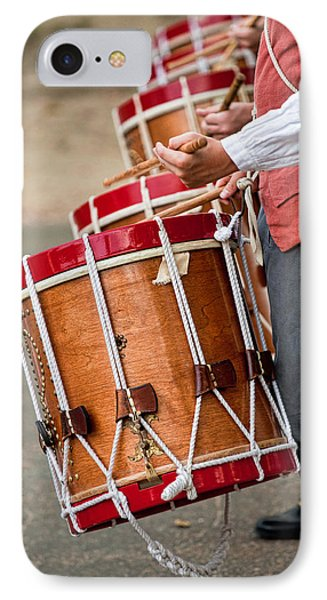Drums Of The Revolution IPhone Case by Christopher Holmes