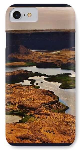Dry Falls IPhone Case by Stacie Gary