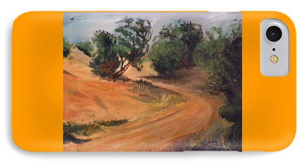 Dry Wash Road IPhone Case by Sherril Porter