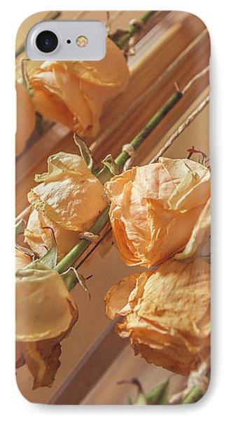 Drying Roses IPhone Case by Thubakabra