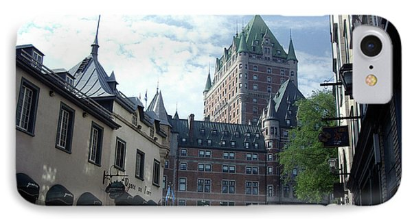 IPhone Case featuring the photograph du Fort Chateau Frontenac by John Schneider