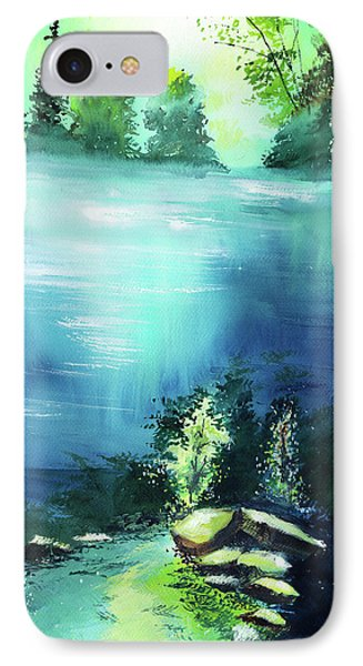 IPhone Case featuring the painting Duality by Anil Nene