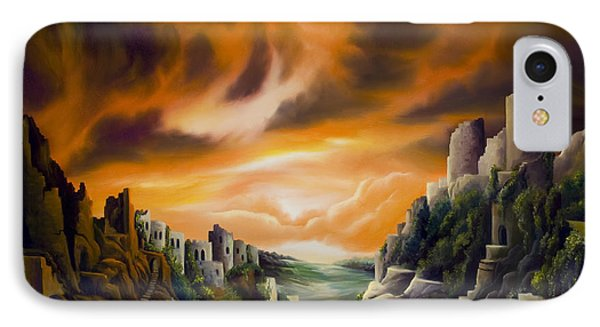 Duallands IPhone Case by James Christopher Hill