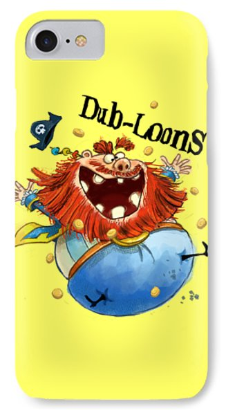 Dub-loons IPhone Case by Andy Catling