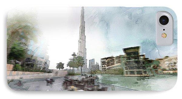 Dubai 5 IPhone Case