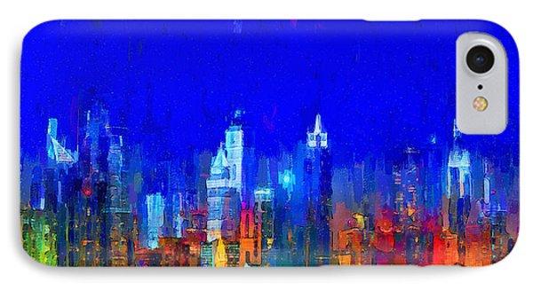 Dubai Skyline 50 - Pa IPhone Case