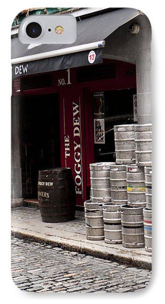 Dublin Beer Kegs Phone Case by Rae Tucker