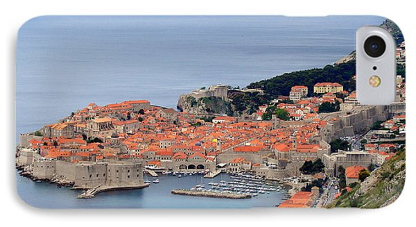 Dubrovnik IPhone Case by Ramona Johnston