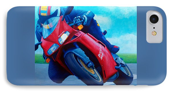 Ducati 916 IPhone 7 Case by Brian  Commerford